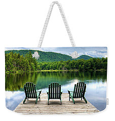 Weekender Tote Bag featuring the photograph An Adirondack Panorama by David Patterson