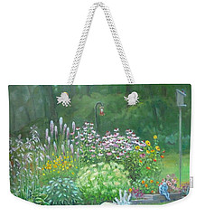 An Angel In My Garden Weekender Tote Bag