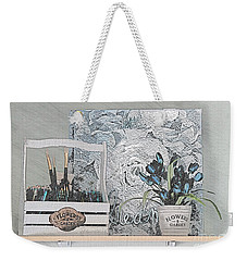 An Artist's Shelf Weekender Tote Bag