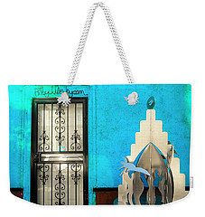 An Artsy House In Brooklyn New York  Weekender Tote Bag by Funkpix Photo Hunter