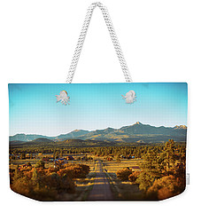 An Autumn Evening In Pagosa Meadows Weekender Tote Bag