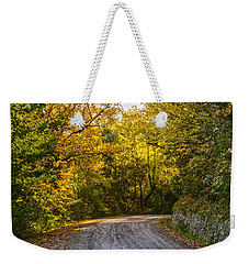 An Autumn Landscape - Hdr 2  Weekender Tote Bag by Andrea Mazzocchetti