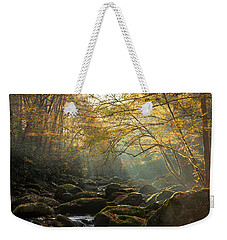 An Autumn Morning Weekender Tote Bag