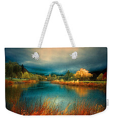 An Autumn Storm Weekender Tote Bag