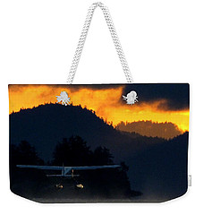 Another Early Departure Weekender Tote Bag