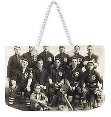 An Early Sf Baseball Team Weekender Tote Bag by American School