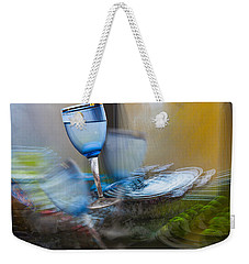 Weekender Tote Bag featuring the photograph The Earth Quake by Vladimir Kholostykh