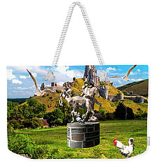 An Echo Of Past Time Weekender Tote Bag
