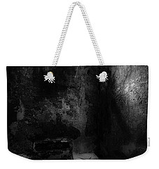 Weekender Tote Bag featuring the photograph An Empty Cell In Old Cork City Gaol by RicardMN Photography