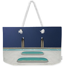 An Empty Pool Weekender Tote Bag by Stan  Magnan