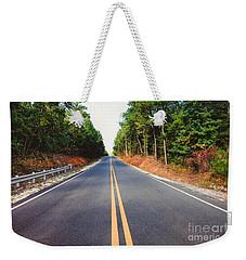 An Empty Road Weekender Tote Bag