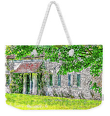 Weekender Tote Bag featuring the digital art An English Cottage by Anthony Murphy