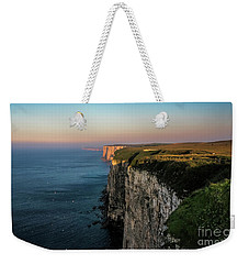 An Evening At Bempton Cliffs Weekender Tote Bag