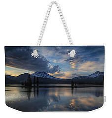 An Evening At Sparks Lake Weekender Tote Bag