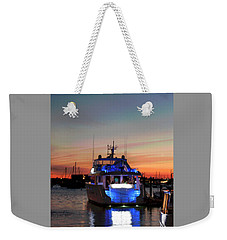 Weekender Tote Bag featuring the photograph An Evening In Newport Rhode Island IIi by Suzanne Gaff