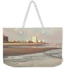 An Evening Walking The Grand Strand Weekender Tote Bag