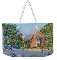 An Historical Church Weekender Tote Bag