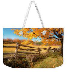 An Ideal Autumn Weekender Tote Bag