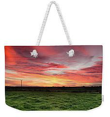 An Irish Landscape Weekender Tote Bag