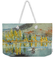 An October Day Weekender Tote Bag by Winslow Homer