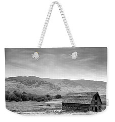 An Old Barn Weekender Tote Bag by Mark Alan Perry