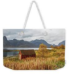 An Old Boathouse Weekender Tote Bag