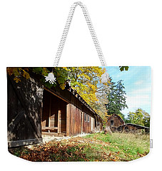 An Old Farm Weekender Tote Bag by Mark Alan Perry