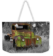 An Old Friend Weekender Tote Bag