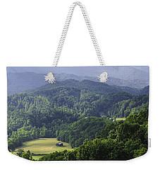 An Old Shack Hidden Away In The Blue Ridge Mountains Weekender Tote Bag