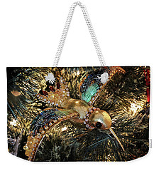 An Ornament On The Tree Weekender Tote Bag