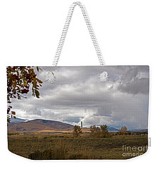 Anaconda Smelter Stack Weekender Tote Bag by Cindy Murphy - NightVisions