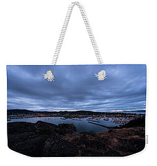 Weekender Tote Bag featuring the photograph Anacortes  by Sabine Edrissi