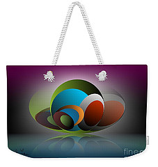 Analogy Weekender Tote Bag by Leo Symon