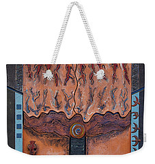 Ancestral Chart- Ancient Early - Hunters Gatherers - Chasseurs Cueilleurs - Cazadores Recolectores  Weekender Tote Bag