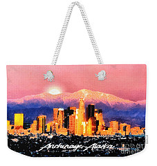 Anchorage - Bright-named Weekender Tote Bag by Elaine Ossipov