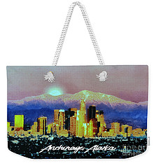 Anchorage-subdued Weekender Tote Bag by Elaine Ossipov
