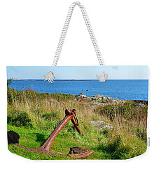 Anchored Weekender Tote Bag by Corinne Rhode