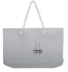 Anchored In The Mist Weekender Tote Bag