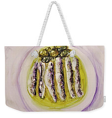Anchovies And Olives Weekender Tote Bag