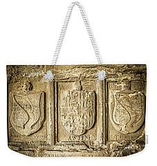 Ancient Carvings Weekender Tote Bag
