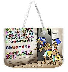Ancient Egyptian Blog Weekender Tote Bag