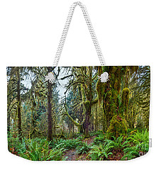 Ancient Forest Panorama Weekender Tote Bag