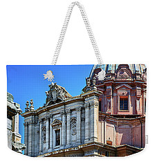 Weekender Tote Bag featuring the photograph Ancient Government Building At The Roman Forum by Eduardo Jose Accorinti