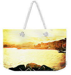 Ancient Marina Weekender Tote Bag