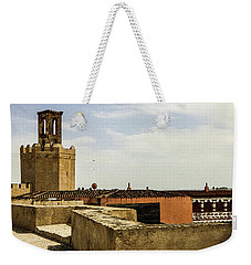 Ancient Moorish Citadel In Badajoz, Spain Weekender Tote Bag