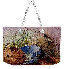 Ancient Relics A Paint Along With Jerry Yarnell' Study. Weekender Tote Bag by Jimmy Smith