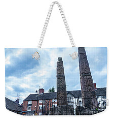 Ancient Saxon Christian Crosses Weekender Tote Bag