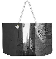 Weekender Tote Bag featuring the photograph Ancient Silence by Silvia Bruno