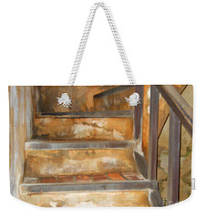 Ancient Stairway Weekender Tote Bag by Roberta Byram