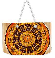 Ancient Sun Kaleidoscope Weekender Tote Bag